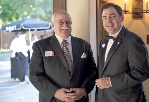 Michael Chandler, Woodland Healthcare Foundation 2016 Chair and Kevin Duggan, VP Philanthropy, Greater Sacramento Service Area