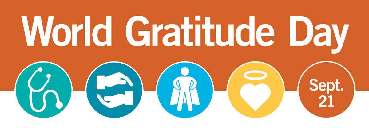 World Gratitude Day 2019 banner